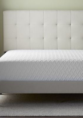 Upholstered Platform Bed Frame With Square Tufted Headboard