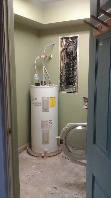 Removing Water Heater With Tankless Grants More Room Saves Energy And Lowers The Risks Of The Tank Leaking Water That Causes Save Energy Room Remodeling Room