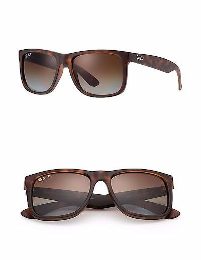 686cbe92ed Sunglasses 155189  Ray-Ban Rb4165 Justin 865 T5 Tortoise Frame Polarized  Brown Gradient Lens 55Mm -  BUY IT NOW ONLY   89.95 on eBay!