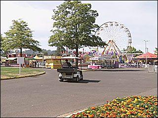 Photo of Lane County Fair - Eugene, OR, United States. Pogo stick stunt