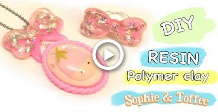 Making Molds And Kawaii Jewelry Diy Resin Polymer Clay Sophie