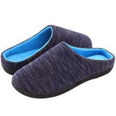 20e88b7d7a84d Men's Birdseye Knit Two-Tone Slipper in 2019 | RockDove Men's ...
