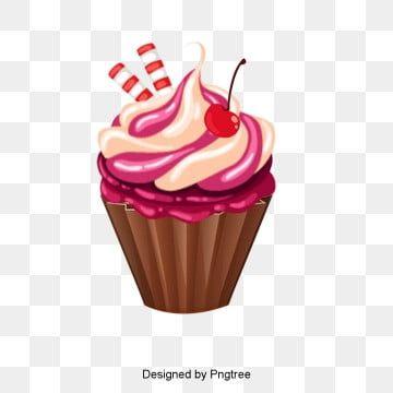 Cupcakes De Vetor Bolo Clipart Aniversario Cartao Imagem Png E Vetor Para Download Gratuito Cupcake Design Yummy Cupcakes Dessert Cupcakes