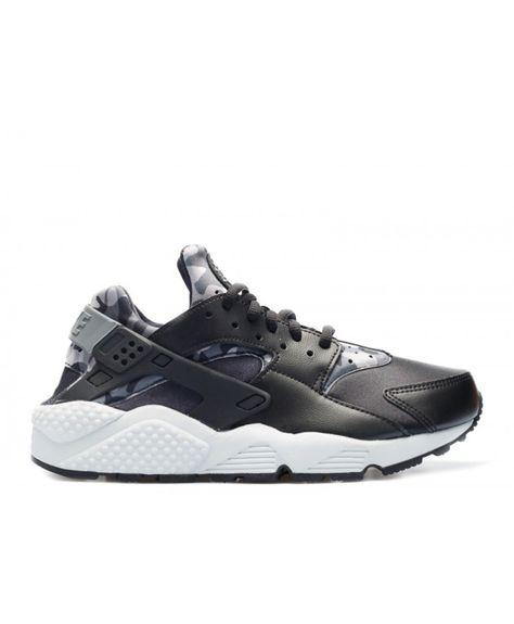 designer fashion a4cb7 f6dc8 Cheap Nike Women s Air Huarache Run Print Black Cool Grey Trainer Sales