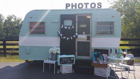 Vintage Camper Photo Booths 10 Adorable Booths For Rent