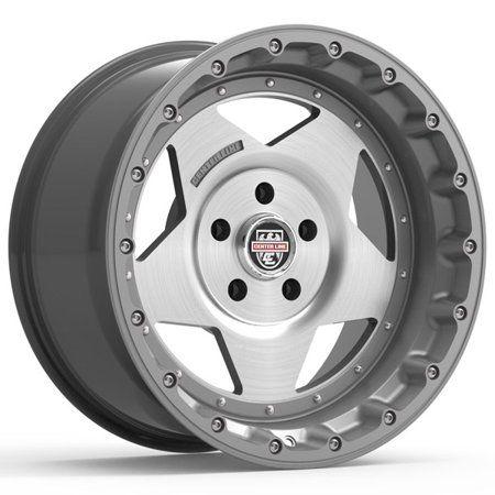 Centerline 832GM RT-1 20x9 5x127 Graphite//Brushed Wheel Rim