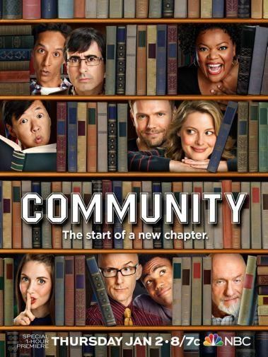 Community Poster Metal Sign Wall Art 8in X 12in Community Tv