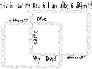 Father's Day Activities using Skills and Strategies