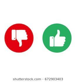 Vector Like Dislike Unlike Thumbs Up Thumbs Down Icon Set Thumbs Up Thumbs Down Thumbs Up Icon Dislike
