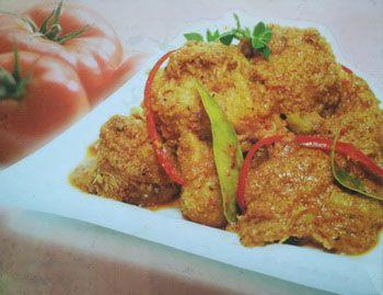 Rendang Jamur Vegan Ala Su Xin Makanan Dan Minuman Jamur Resep Vegetarian