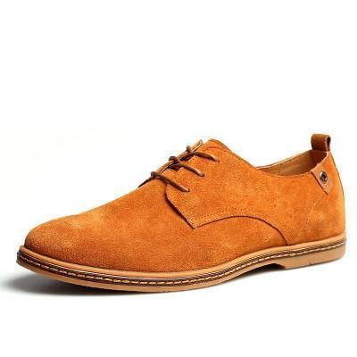 Breathable Leather Shoes 11 Sizes 7 Colors Breathable Leather Shoes Suede Shoes Men Oxford Shoes Men
