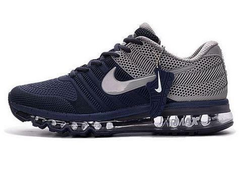 big sale on sale fast delivery Mens Nike Air Max 2017 Kpu Dark Blue Grey for USA | Gray nike ...