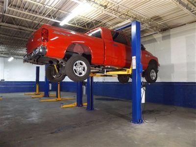 Universalift 9kac 2 Post Truck Lift North American Auto Equipment Lifted Trucks Trucks Lifted Diesel Trucks