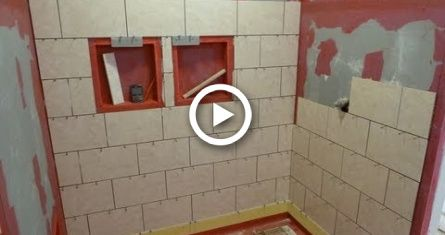 Part Quot 1 Quot How To Install Tile On Shower Tub Wall Step