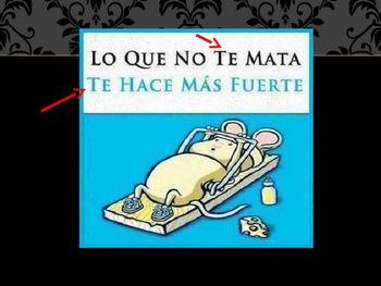 Spanish Direct Object Pronoun Comics And Memes Powerpoint Object Pronouns Funny Spanish Memes Spanish Memes