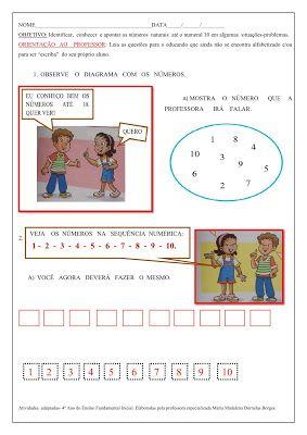 Spaco Educar Atividades Adaptadas De Matematica 4 Com