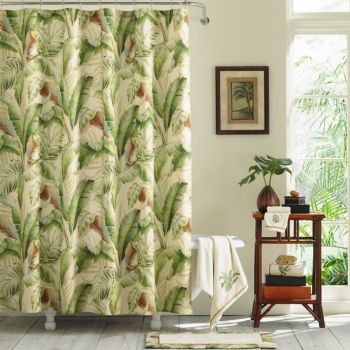 Tommy Bahama Home Tommy Bahama Palmiers Shower Curtain Reviews Home Macy S With Images Designer Shower Curtains Modern Shower Curtains Long Shower Curtains