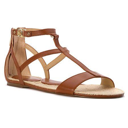 008a3c21def8 MICHAEL Michael Kors Bria Flat Sandal