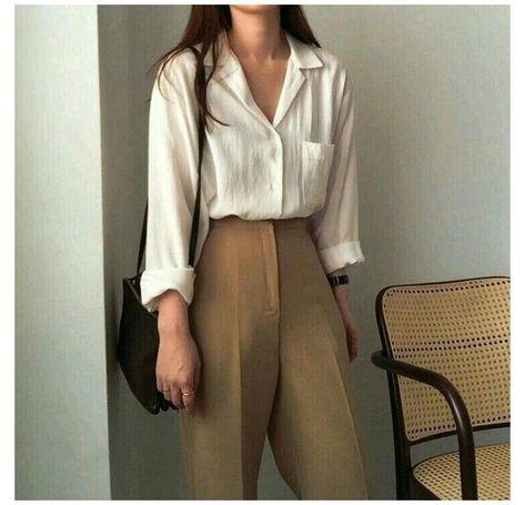 minimalist summer outfit work