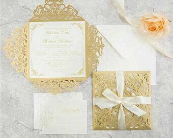 Wedding Invite Kit Laser Invitations