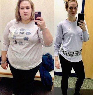 Vorher nachher 30 kg abnehmen Vorher Nachher