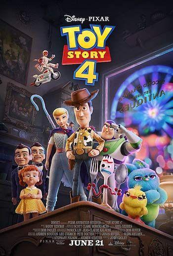 Toy Story 4 2019 Dual Audio Hindi 480p Hdrip 350mb Full Movie Download Toy Story Pixar Toys Download Movies