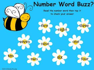 Free! Number Word Buzz Game