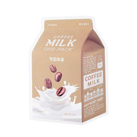 A'PIEU - A'PIEU Coffee Milk One-Pack Face Mask - Walmart com