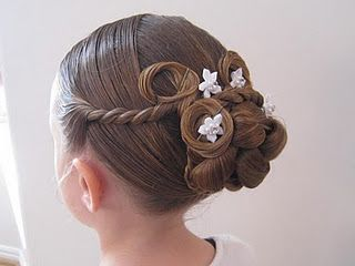Fancy Holiday Hair