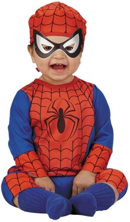 Spider-Man Halloween Costume for Babies with Accessories