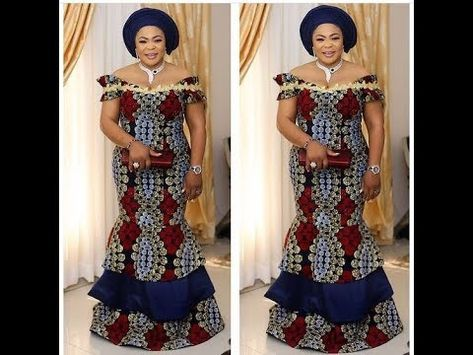 Asoebi Special 2019 60 Asoebi Long Gown Dresses And Styles For The W Latest African Fashion Dresses African Fashion Dresses African Fashion
