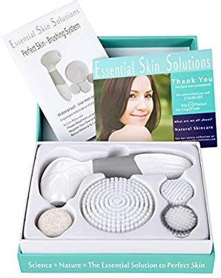 Amazon Com Face Brush Exfoliation Cleansing System