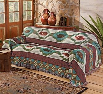 Southwest Expressions Sofa Cover