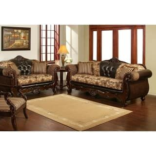 3 Piece Patron Sofa Set With 400 Accent Chair By Arely S