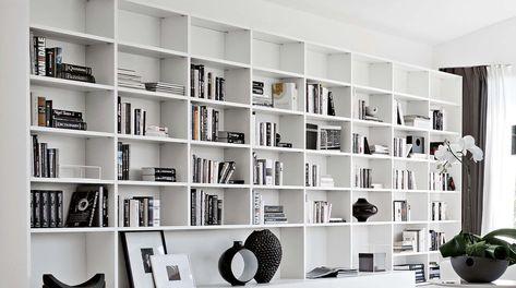 Librerie Componibili A Ponte.Libreria Componibile A Parete Su Misura Artik Home Ideas
