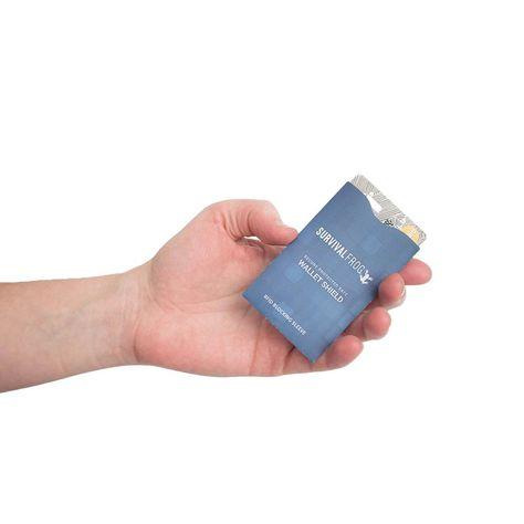 SafeWallet RFID Shield Credit & Debit Card Blocker by Frog & CO - 4PK