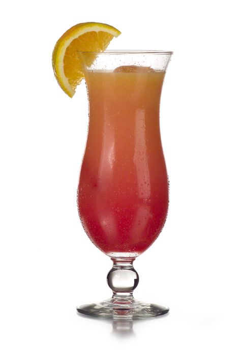 Frozen Hurricane: 2 oz Bacardi Light Rum, 3 oz Steve's Frozen Chillers Fruit Punch Frozen Drink Mix. Mmmmmm.