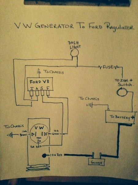 vw regulator wiring wiring diagram 500 kubota alternator regulator wiring diagram motorola alternator regulator wiring diagram #14
