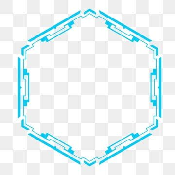 Technological Sense Of Pentagon Line Combination Graphic Tech Geometric Texture Border Thick Lines Dotted Pattern Border Big Data Embellishment Decoration Gra Geometric Textures Dots Pattern Line Dot