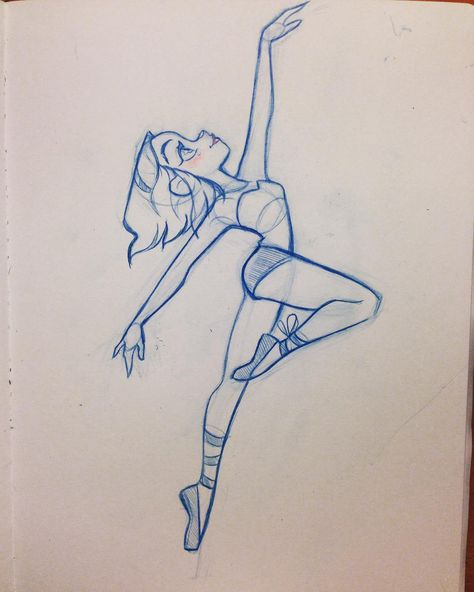 Dancer sketch #design #ballet #girlsketch #characterdesign #art #dancer #silhouette #cute