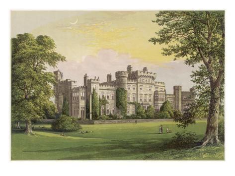 Giclee Print Gladstone At Hawarden Castle Art Print 24x18in Art Castle Antique Prints