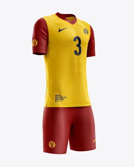 Download Men S Soccer V Neck Kit Mockup Half Side View In Apparel Mockups On Yellow Images Object Mockups Shirt Mockup Clothing Mockup Design Mockup Free