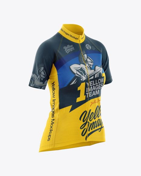 Womens Cycling Jersey Jersey Mockup Psd File 149 39 Mb Di 2020