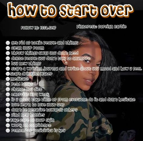 How to start over ||  follow 𝐗𝐜𝐥𝐮𝐬𝐢𝐯𝐞𝐉𝐚𝐲.