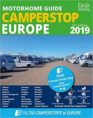 Motorhome Guide Camperstop Europe 27 Countries 2019 Gps Amazon Co
