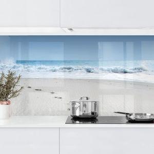 Kuchenruckwand Ostsee Strand Glasbilder Kuche Kuchen Ruckwand Kuchenruckwand