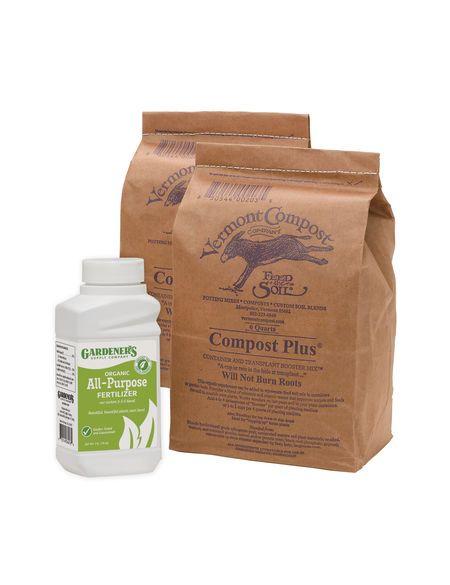 Organic Compost Plus Raised Bed Booster Kit Gardener S Supply