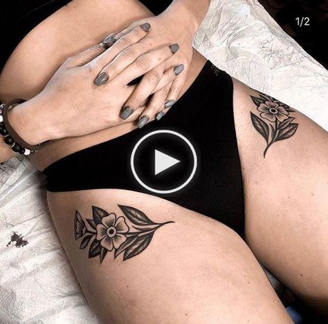 tatouages de la hanche