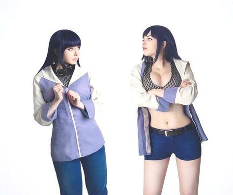 Hinata from Naruto cosplay by Milena_Amane