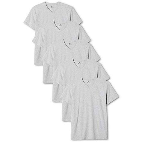 5er Pack Lower East Herren T-Shirt mit V-Ausschnitt